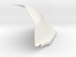 f-16 shield3 in White Natural Versatile Plastic