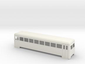 On16.5 railbus bogie long in White Natural Versatile Plastic