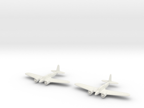 1/200 Curtiss A-18 (x2) in White Natural Versatile Plastic