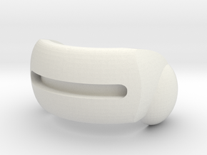 OptiVisor goggles for ModiBot  in White Natural Versatile Plastic