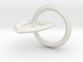 Interlocking Seals — Medium in White Strong & Flexible