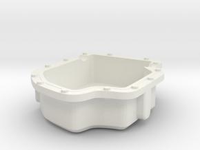 Plainpan fixed in White Natural Versatile Plastic