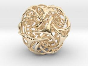 Doda Vorta - 45mm in 14K Yellow Gold
