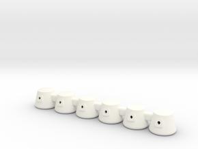 Mars One Living Units in White Processed Versatile Plastic