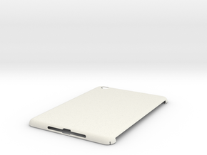 Blank iPad Mini Case in White Natural Versatile Plastic