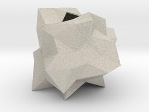 Sphere Random Vase in Natural Sandstone