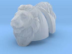 Lion Standard Heavy Shoulder (pair) in Smooth Fine Detail Plastic