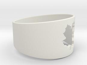 SugarMaple - Size 6 in White Natural Versatile Plastic