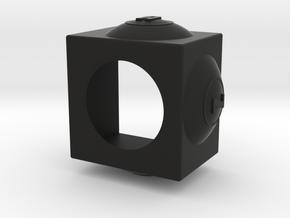 AZB Chalk Holder in Black Natural Versatile Plastic
