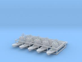 Arleigh Burke class destroyer x5 1/3500 in Smooth Fine Detail Plastic