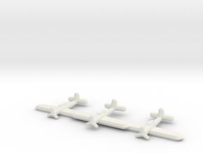 Arado Ar 196T-1 (Triplet) 1:900 in White Natural Versatile Plastic