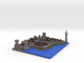Castle Lividus of Aeritus 1 in Full Color Sandstone