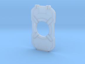 Halo 4 Cortana Chip in Smooth Fine Detail Plastic
