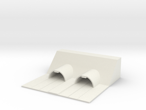 1/700 Highway Tunnels in White Natural Versatile Plastic