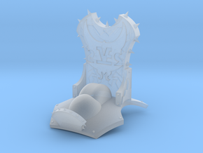 Monster Throne in Frosted Ultra Detail