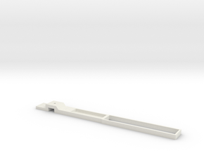 H0 Universal chassisframe in White Natural Versatile Plastic