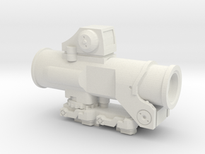 1:6 SCALE COMBAT SIGHT  in White Natural Versatile Plastic
