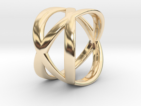Tre Ring in 14K Yellow Gold