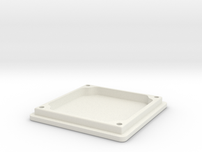 board camera housing cover in White Natural Versatile Plastic