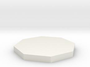 Smallville - Ship Key *1/6th Scale* in White Natural Versatile Plastic