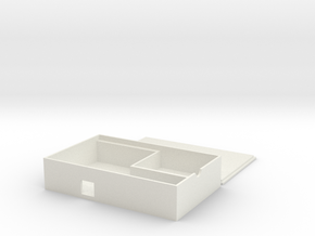 LibraryBox Container in White Natural Versatile Plastic