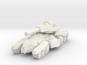 Bardo B3 Tank in White Natural Versatile Plastic
