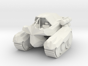 Sabre Troop Transport  in White Strong & Flexible