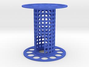 Fischertechnik big spoolwheel in Blue Processed Versatile Plastic