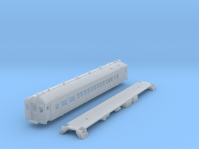 N Scale Reading MU Blueliner Coach (ex-Combine) in Smooth Fine Detail Plastic