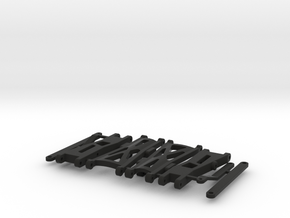 widetrack shapeways in Black Natural Versatile Plastic