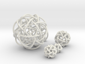Five Simplest Poly-Twistors in White Natural Versatile Plastic