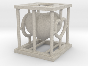 heartCage in Sandstone