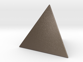 Tetrahedron in Stainless Steel
