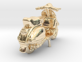Lovely Vespa in 14K Yellow Gold
