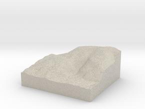 Model of McComas Beach in Sandstone