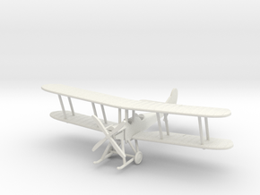 "RAF B.E.2c ""Early"" 1:144th Scale in White Natural Versatile Plastic"