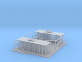 Reling Set ,kurze und lange Version in Smooth Fine Detail Plastic