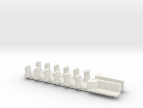 Schiffslaternen FLB in White Natural Versatile Plastic