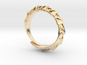 Game of Thrones Dragon Ring in 14K Yellow Gold