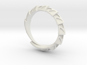 Game of Thrones Dragon Ring in White Natural Versatile Plastic
