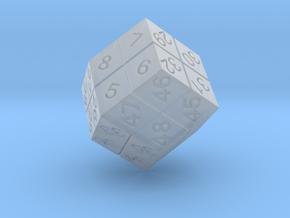 4 Player Start Order Die in Smooth Fine Detail Plastic