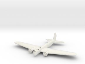 1/200 Boeing B-9 in White Natural Versatile Plastic