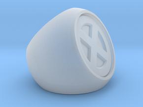 XMEN Ring in Smooth Fine Detail Plastic