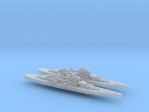 1/3000 UK Lion class battleship (1939) x2 in Smooth Fine Detail Plastic