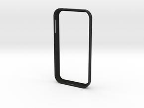Galaxy S4 - Case in Black Natural Versatile Plastic