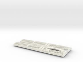 Stylish and discrete insulin syringe case  in White Natural Versatile Plastic