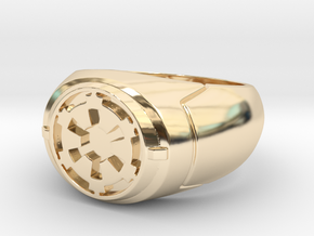 Imperial Signet Ring in 14K Yellow Gold