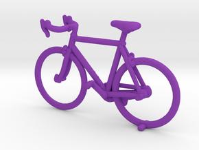 Singlespeed Bike in Purple Processed Versatile Plastic