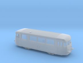 Vorserien Schienenbus Spur TT 1:120 in Smooth Fine Detail Plastic