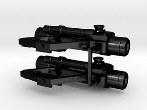 1:6 scale Russian PKS-07 Optic SIght Side Mounted  in Matte Black Steel